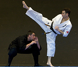 how to go through the stances in kyokushin karate